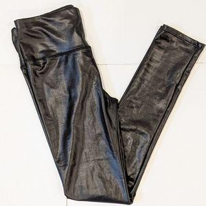 2/$20 Guilty black shiny legging small